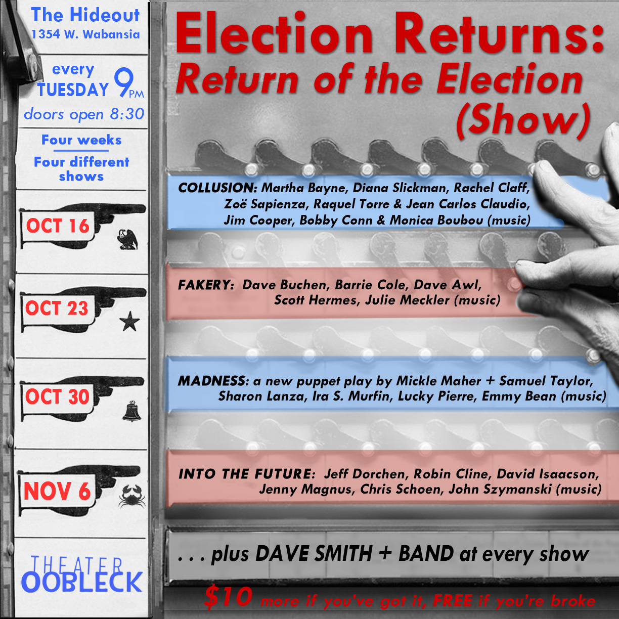 Election Returns: Return of the Election (Show)